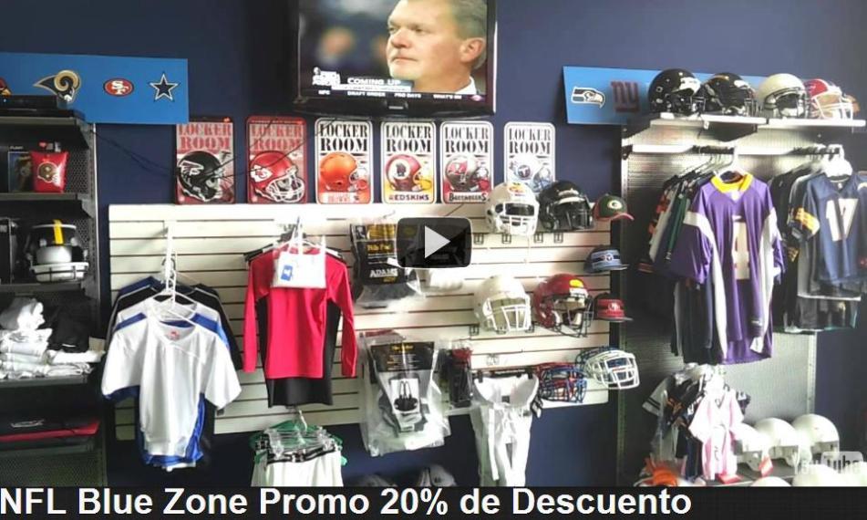 NFL Blue Zone Plaza Nichupte 20% de Descuento  374b26bcc67